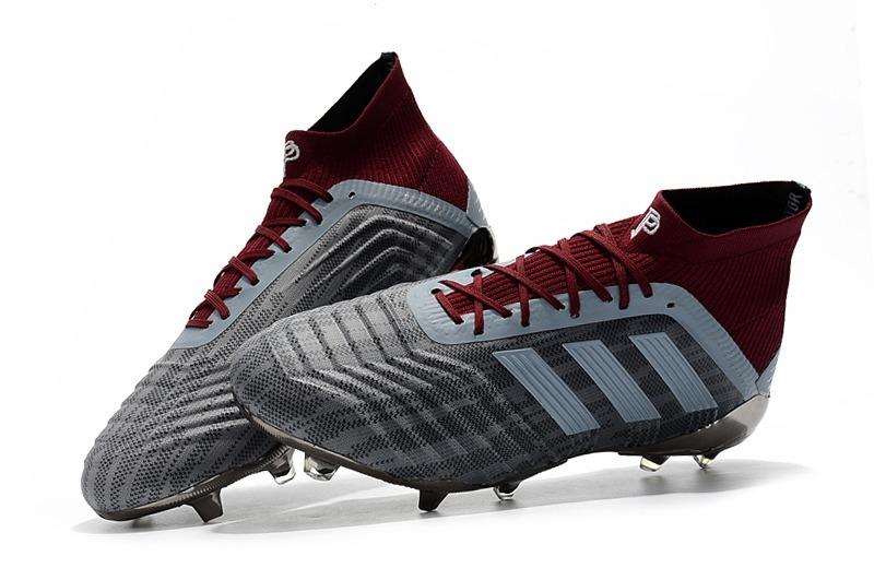 chuteira adidas predator 18.1 gray + red campo original. Carregando zoom. 03579297bddb5