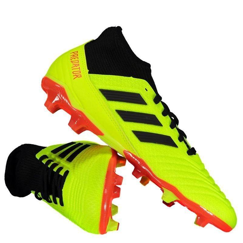 ... YELLOW CORE BLACK SOLAR RED CG7051  aa724934f99 Chuteira adidas  Predator 18.3 Fg Campo Amarela - R 289 97ae77266d3b0