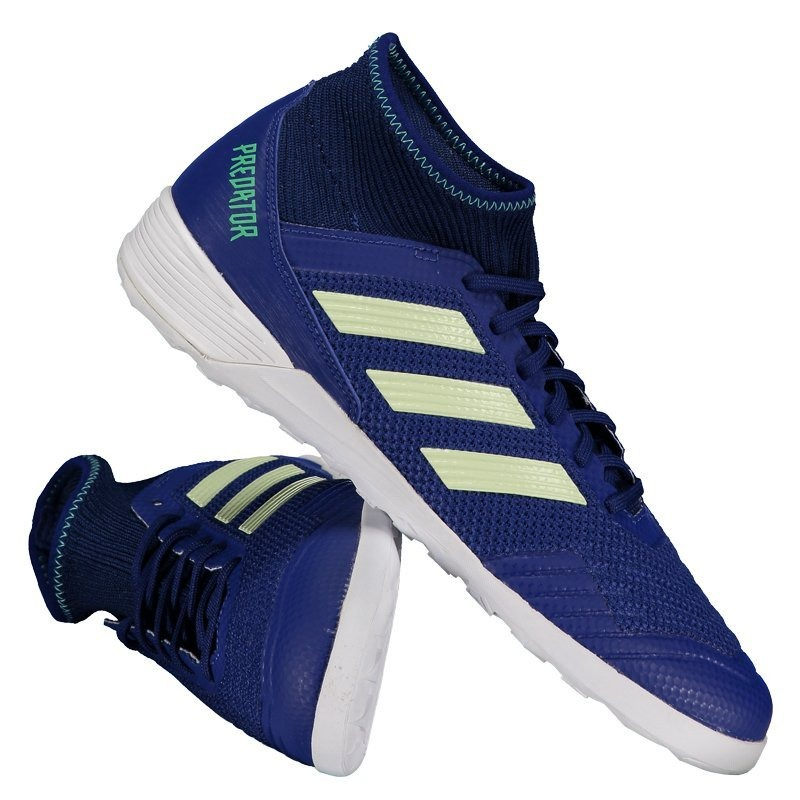 33076887c3 ... tango 18.4 tf azul e093b b8ac0 good chuteira adidas predator 18.3 in  futsal azul. carregando zoom.