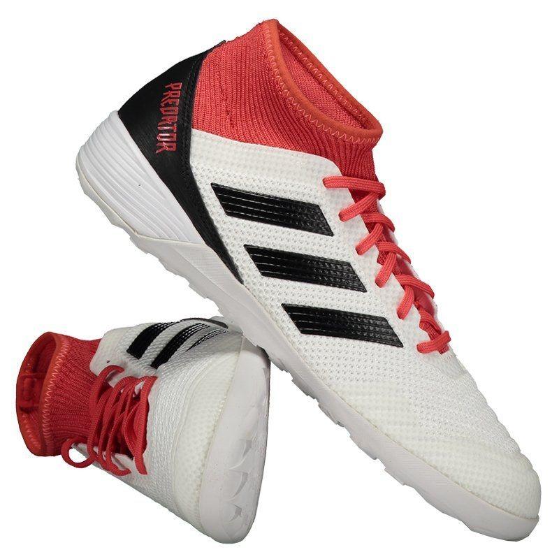 0df4497ad2 chuteira adidas predator 18.3 in futsal branca. Carregando zoom.