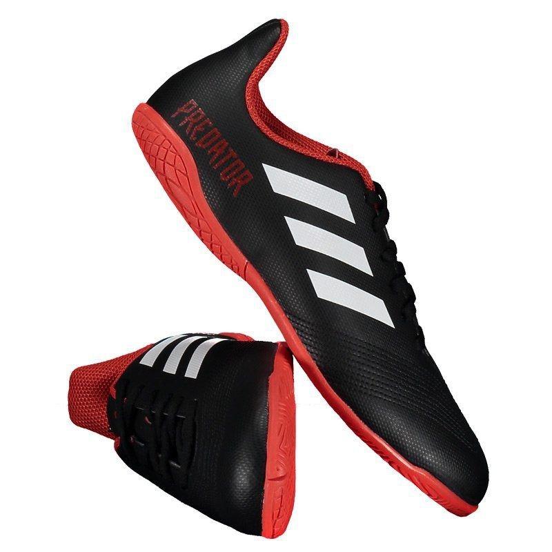 f49baa4fb8048 Chuteira adidas Predator 18.4 In Futsal Juvenil Preta - R$ 179,90 em ...