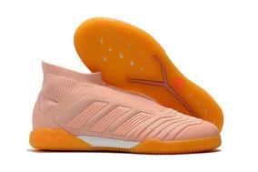 f3b876c8a Chuteira Adidas Predator Futsal Rosa - Chuteiras no Mercado Livre Brasil