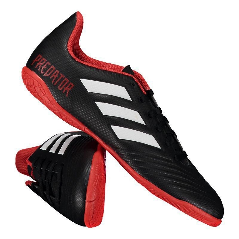 chuteira adidas predator tango 18.4 in futsal preta. Carregando zoom. a94944790755b