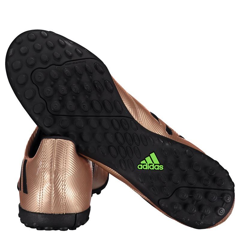Chuteira adidas Messi 16.4 Tf Society Dourada - R  179 f8d6086706e15
