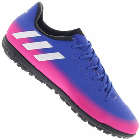 e157b0f741683 Chuteira Adida Rosa Azul - Chuteiras adidas no Mercado Livre Brasil