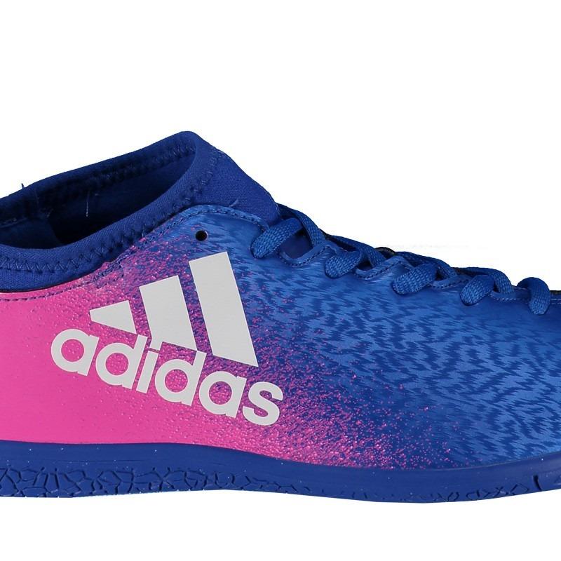 innovative design 0cc9c fb846 chuteira adidas x 16.3 in futsal azul. Carregando zoom.
