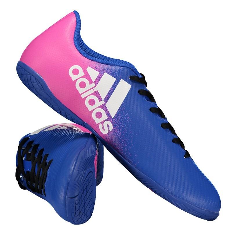 3bb5197250 Chuteira adidas X 16.4 In Futsal Azul - R  147