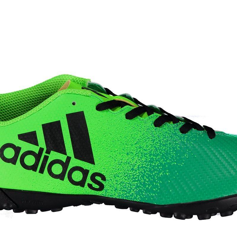 chuteira adidas x 16.4 tf society verde. Carregando zoom. bd944df86411c