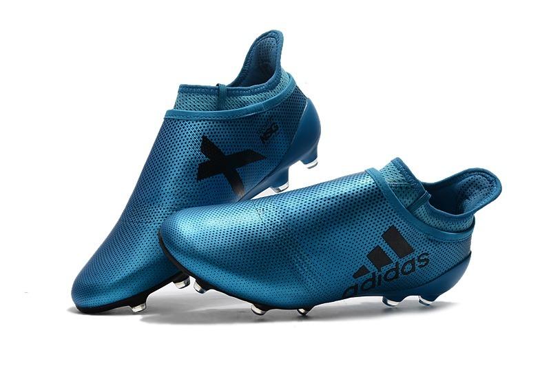 chuteira adidas x 17 purespeed blue campo original. Carregando zoom. 839d1b014bad9