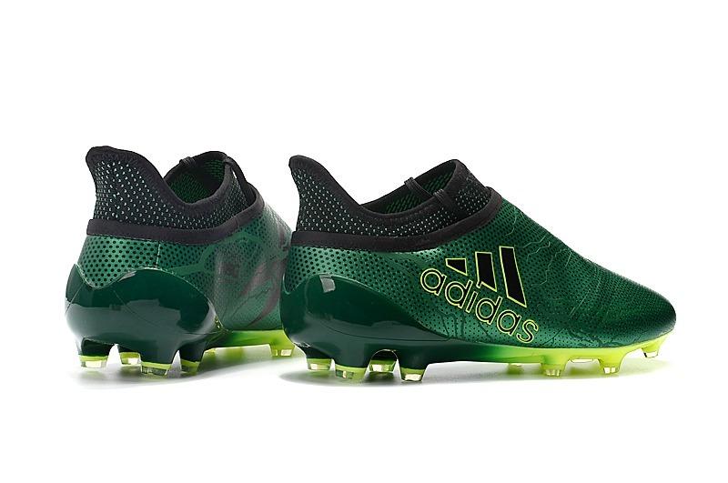 chuteira adidas x 17 purespeed green campo original. Carregando zoom. 3c39bcd4c85f4