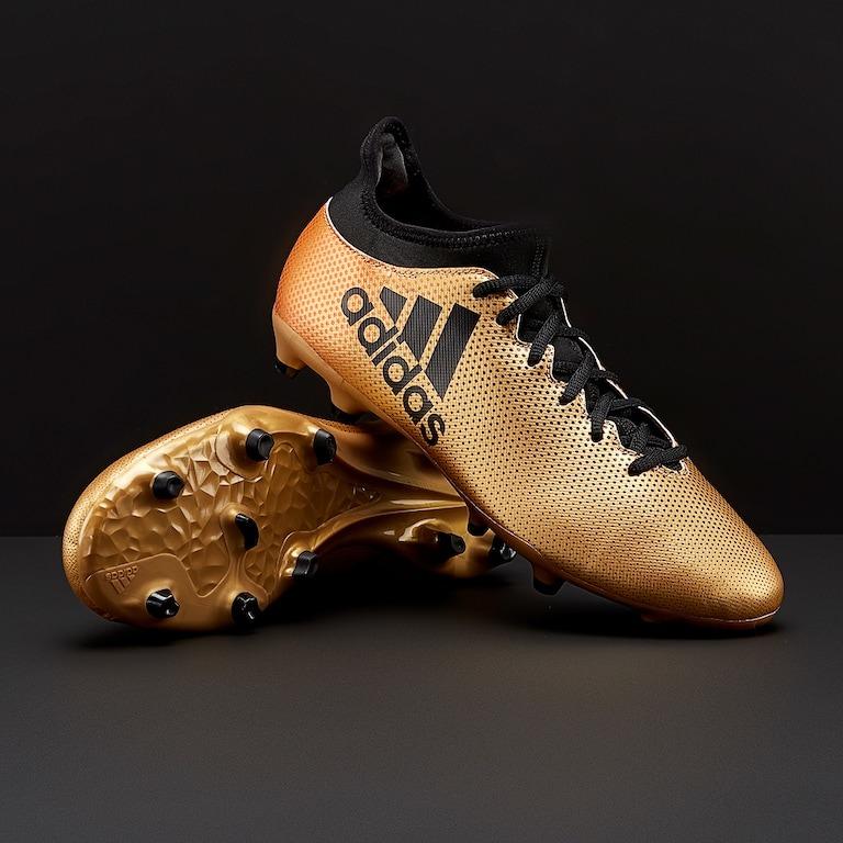 check out eca63 6d779 Chuteira adidas X 17.3 Fg - Ouro