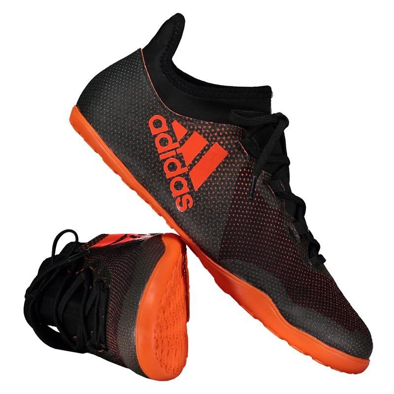 chuteira adidas x 17.3 in futsal preta. Carregando zoom. d341326b7b893