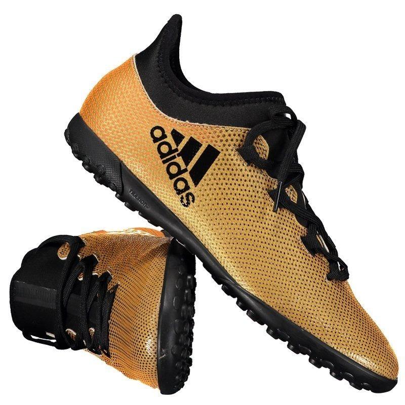 chuteira adidas x 17.3 tf society juvenil dourada. Carregando zoom. quality  design b9f7c e9039 ... 40d851a9f62e5
