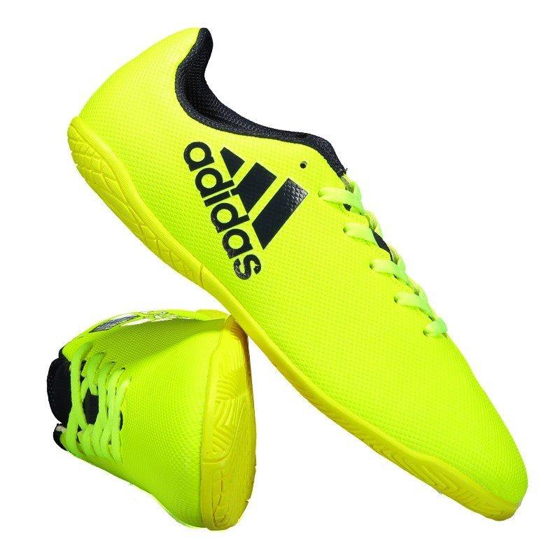 Chuteira adidas X 17.4 In Futsal Amarela Juvenil - R  139 72a2ab53a9b5d