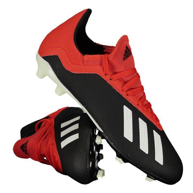 26a54c98fa996 Chuteira adidas X 18.3 Fg Campo Juvenil Preta - R$ 249,90 em Mercado ...