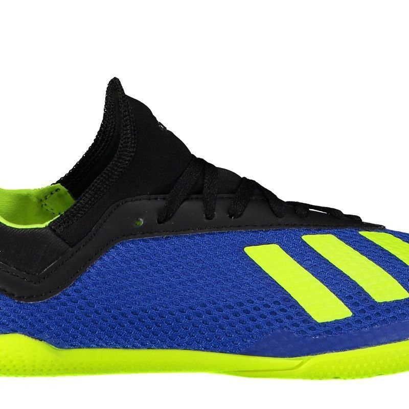8f3800bc94 chuteira adidas x tango 18.3 in futsal juvenil azul. Carregando zoom.