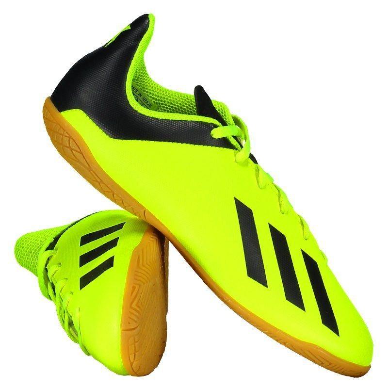 2cf1a107fc11 chuteira adidas x tango 18.4 in futsal juvenil amarela. Carregando zoom.