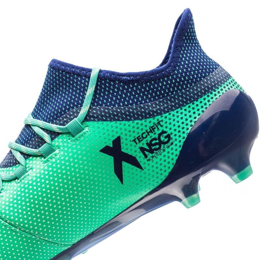super popular 7c2a9 bb2f7 Chuteira adidas X17.1 Fg Campo + Bolsa #38