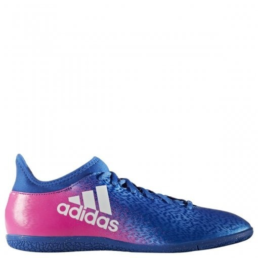 best loved dbedb c8ced chuteira azul e rosa adidas x 16.3 in masculina futsal