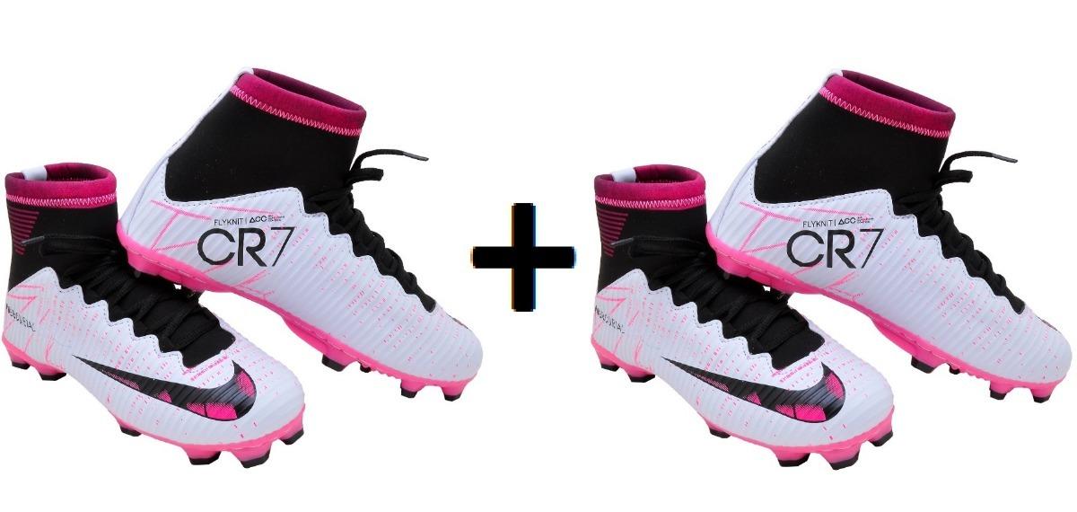 832c41479ab Chuteira Botinha Campo Nike Adulto Lançamento Frete Grátis - R  210 ...