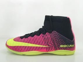 78f1aa42a Tenis De Futsal Nike Mercurial Com Botinha Rosa - Esportes e Fitness no Mercado  Livre Brasil