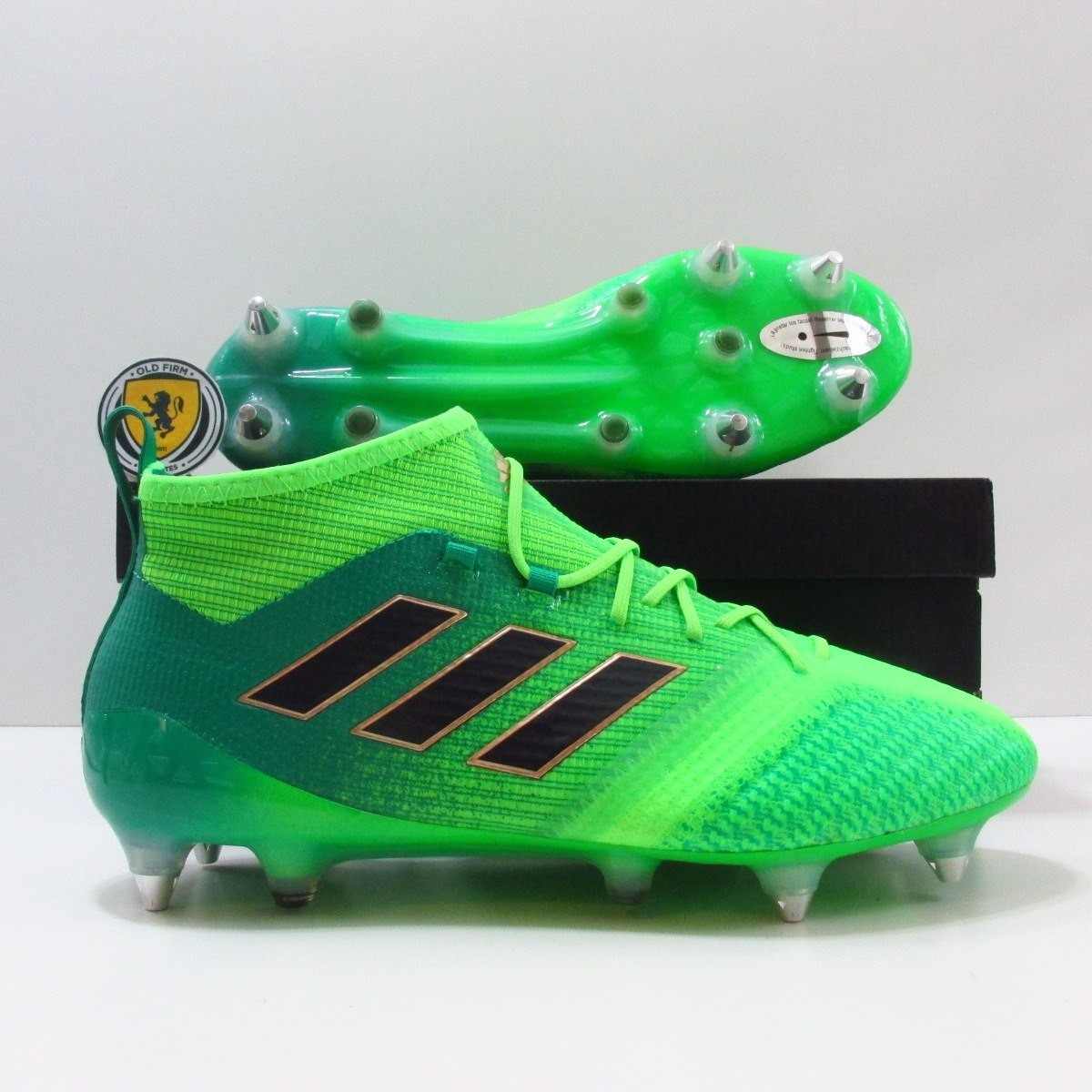 47b6ad9ca1 Carregando zoom  best authentic chuteira campo adidas ace 17.1 sg trava  mista original. Carregando zoom.