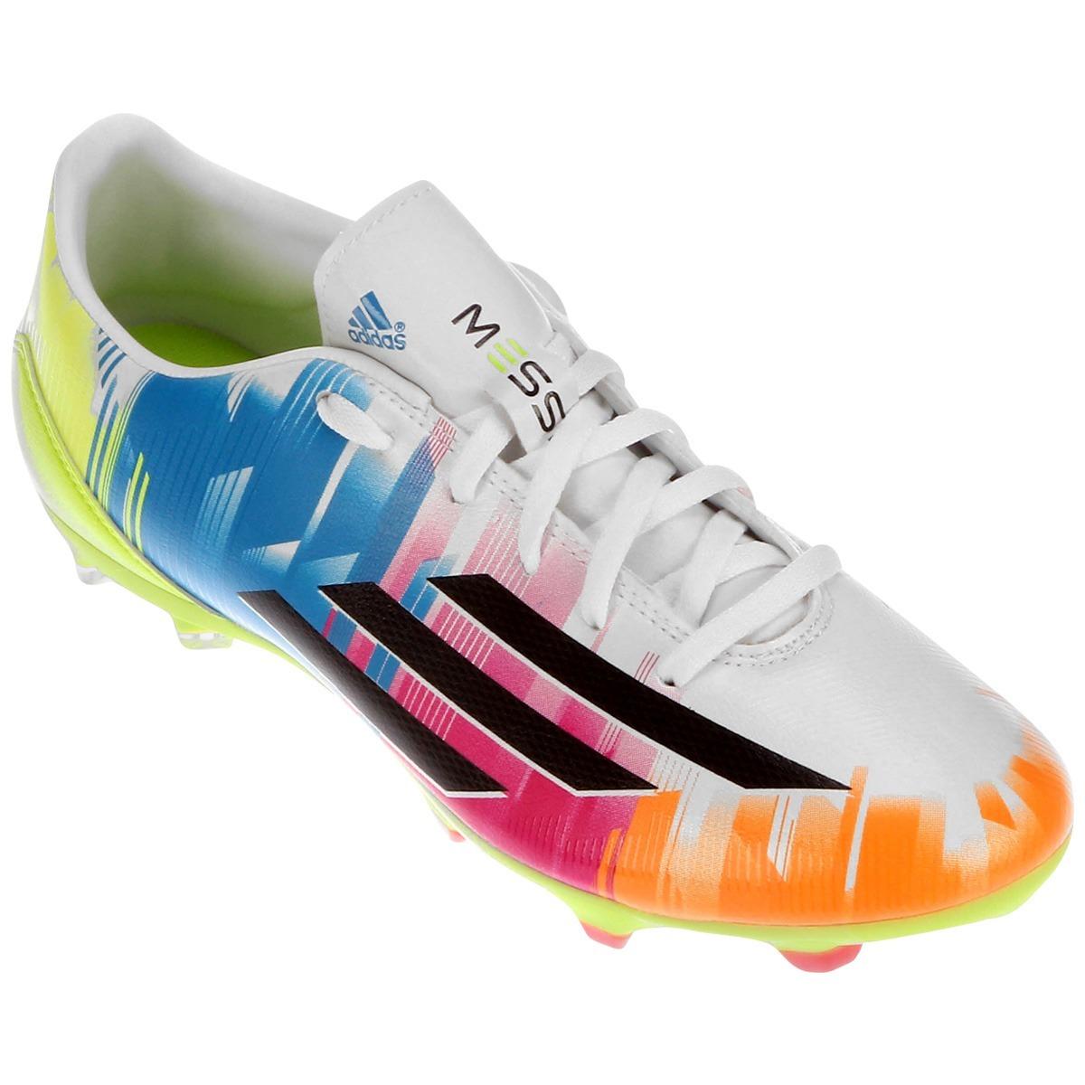new styles d47e8 0aa42 chuteira campo adidas f10 trx fg messi top. Carregando zoom.