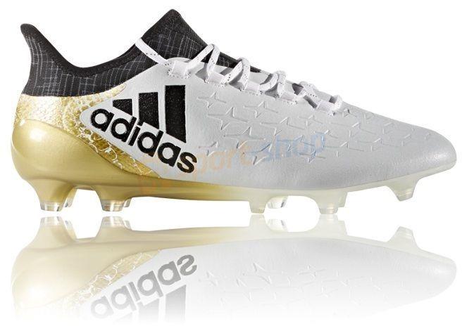 9a5c9dc4a6 Chuteira Campo adidas X 16 1 Fg Masculina Gold Profissional - R  499 ...