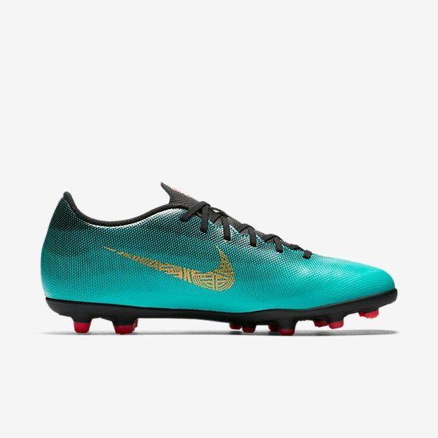 d29a90c160 Chuteira Campo Nike Mercurial Vapor 12 Club Cr7 Original - R  279