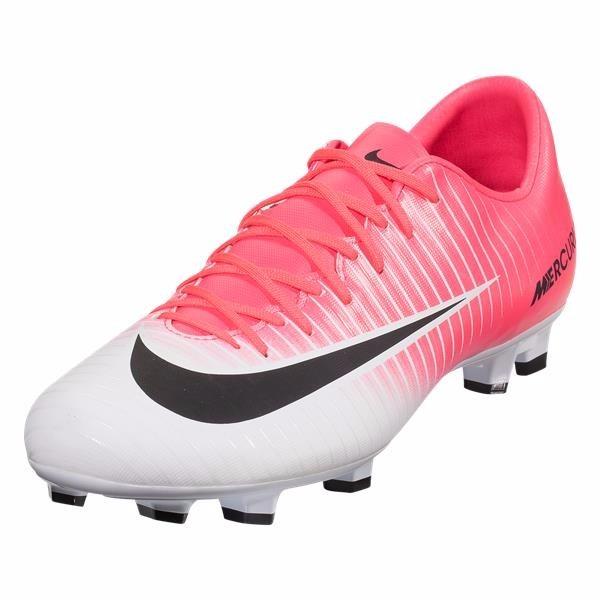 Chuteira Campo Nike Mercurial Victory Fg Pink branco Oferta - R  279 ... 46daab3395428