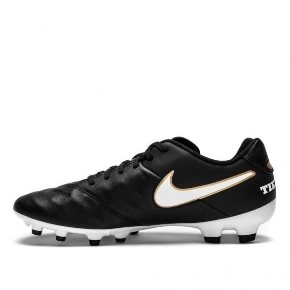 Chuteira Campo Nike Tiempo Genio Ii Leather Fg - Couro - R  245 77e935dfbe0ec