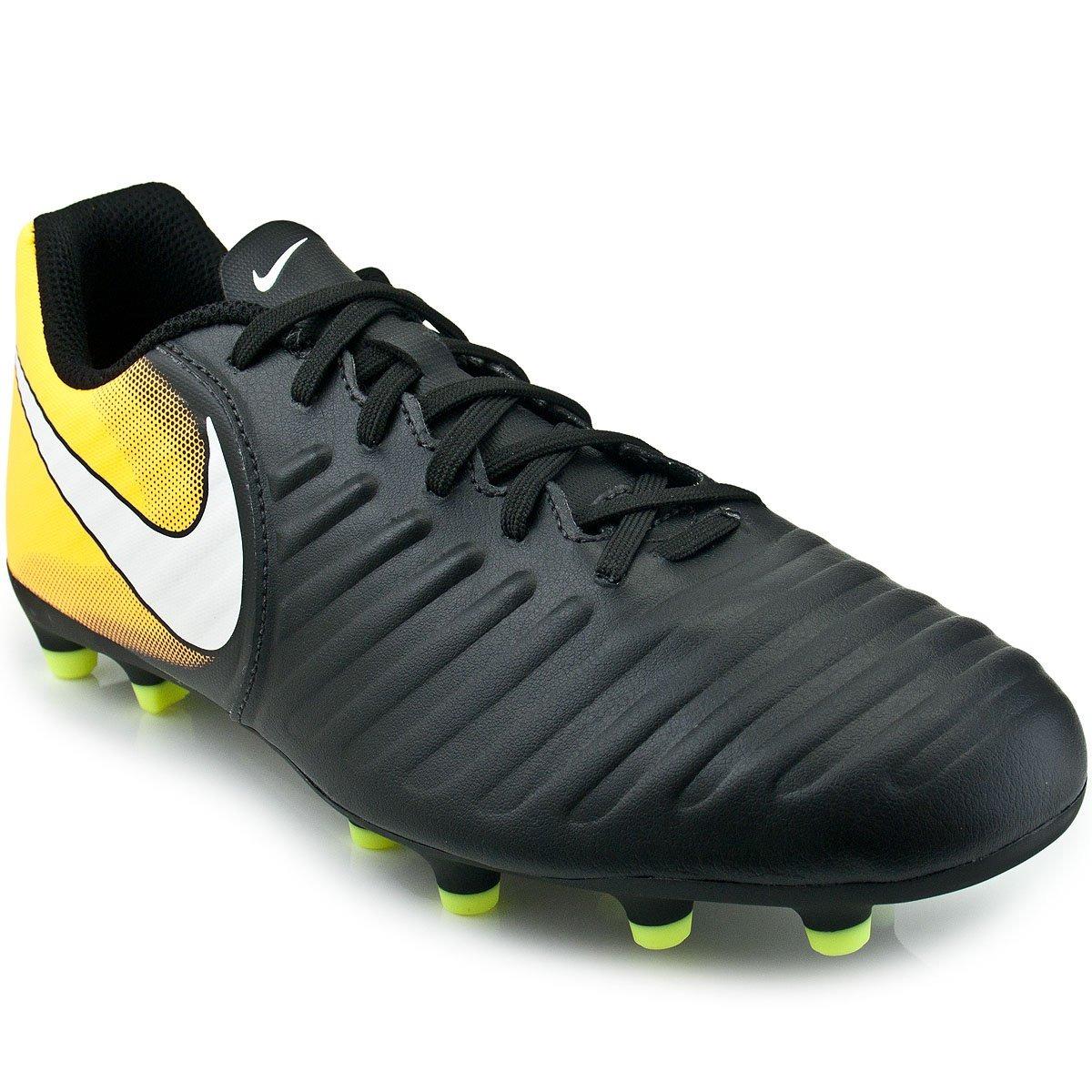 Chuteira Campo Nike Tiempo Rio 4 Adulto Preto - Original - R  259 c605f4aa37f16
