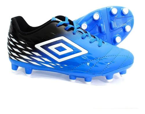 chuteira campo soccer fifity masculino azul