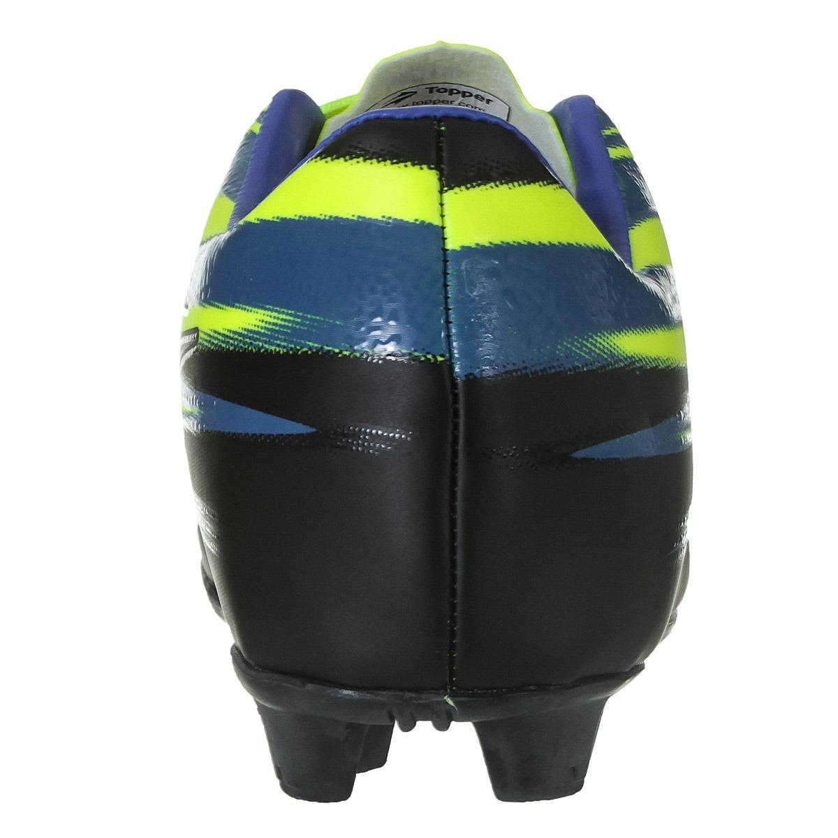 18cc70d2b4257 Chuteira Campo Topper Vector 2 Masculino - R$ 149,90 em Mercado Livre