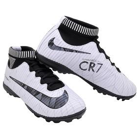 6c3e32ee4ad1d Chuteira Society Nike Cr7 Azul - Esportes e Fitness no Mercado Livre Brasil