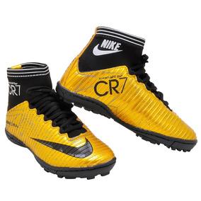 15df6638cf089 Chuteiras Campo Original Nike Brilhante - Chuteiras para Infantil no Mercado  Livre Brasil