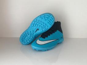 89e8263119 Chuteira Society Cano Alto Nike Mercurial Importada - Esportes e Fitness no  Mercado Livre Brasil