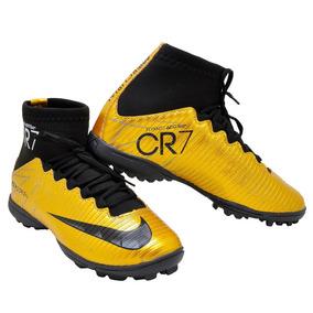 4387387741cf6 Chuteira Nike Cano Alto Longo Trava Campo 35 - Chuteiras no Mercado ...