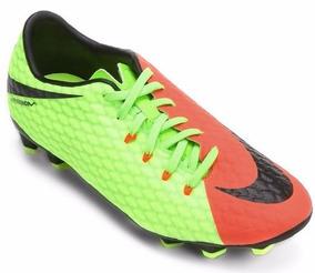 6bcd8dc8e29f6 Chuteira Nike Laranja Com Verde - Chuteiras com Ofertas Incríveis no  Mercado Livre Brasil