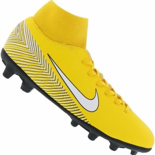 Chuteira De Campo Nike Mercurial Superfly 6 Club Neymar Jr. - R  377 ... e9697423ee1b6