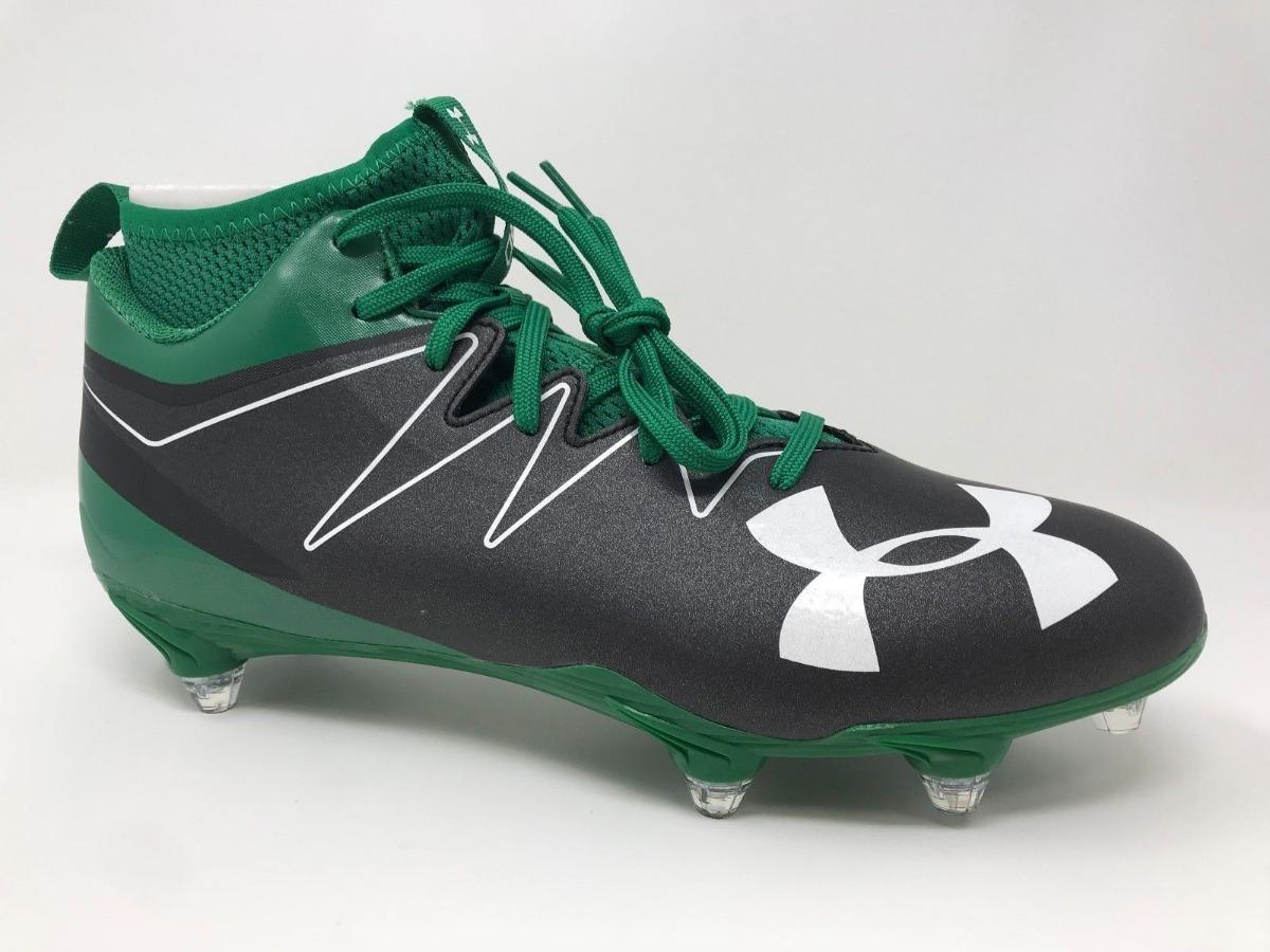 622507758 chuteira de futebol americano rugby under armour nitro verde. Carregando  zoom.
