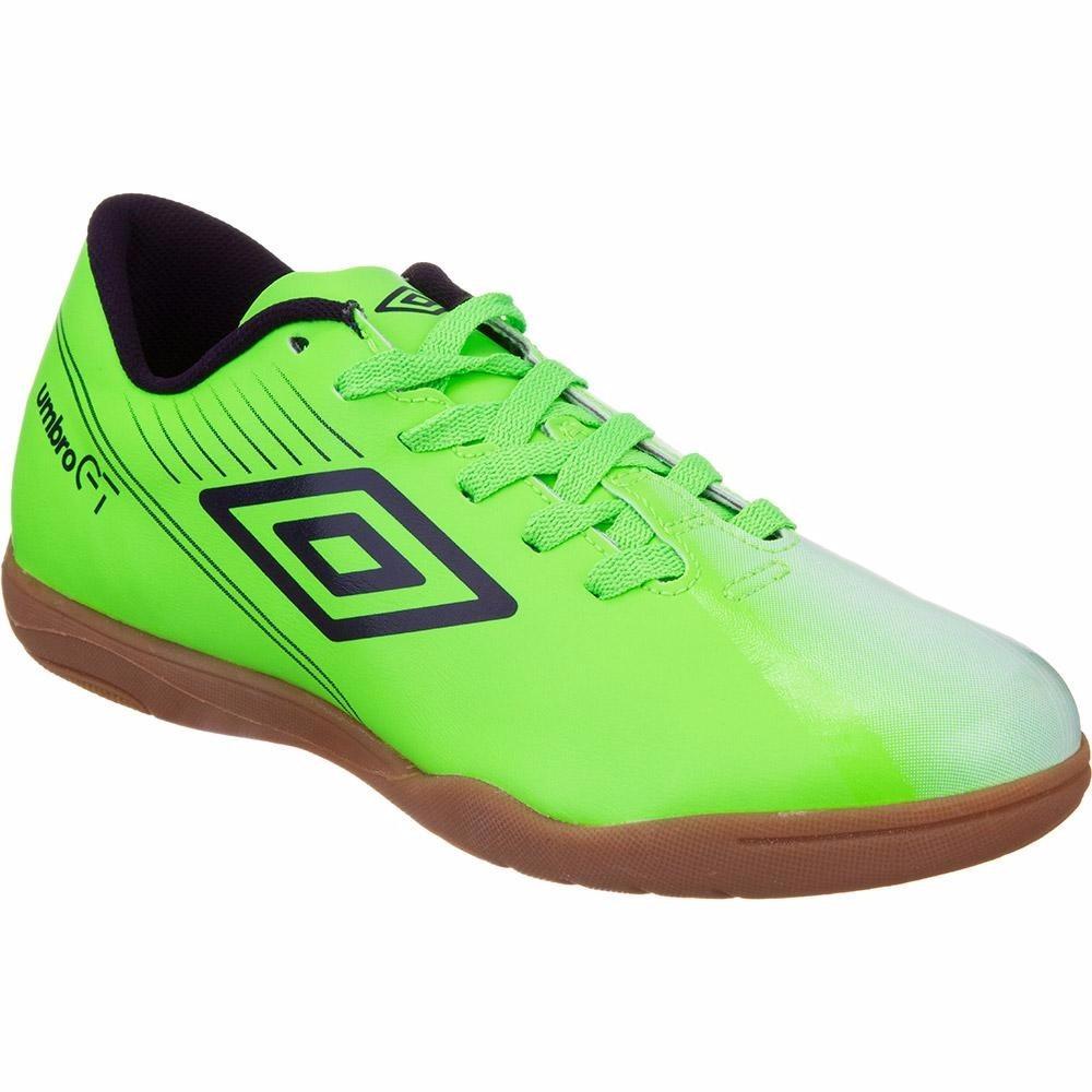 chuteira de futsal indoor umbro gt ii br league - verde. Carregando zoom. e57fcf774cffd