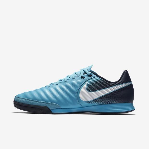 9f8ba30cb Chuteira De Futsal Nike Tiempox Ligeira - Azul Marinho - R$ 349,90 ...