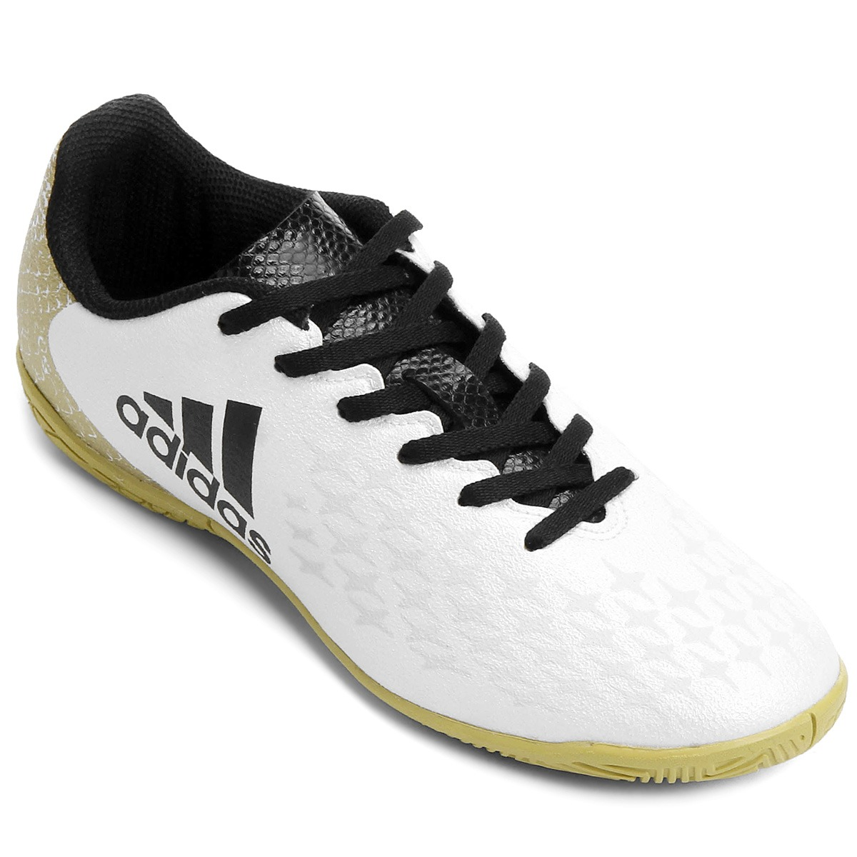 5c7753c163aca chuteira futsal adidas juvenil x16 30 - 34 - branco. Carregando zoom.