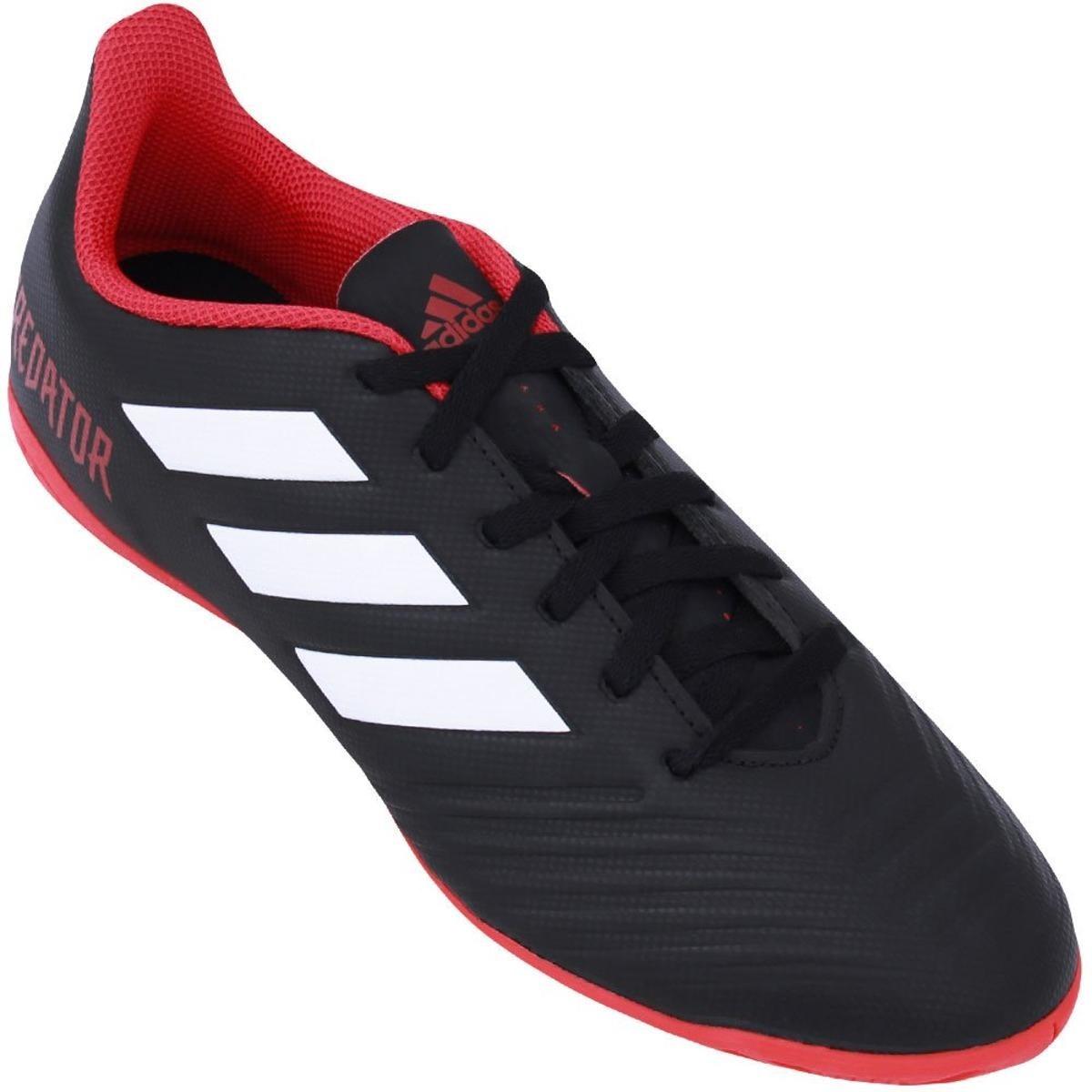 chuteira futsal adidas predator 18 4 in masculina - original. Carregando  zoom. eaed347708f28