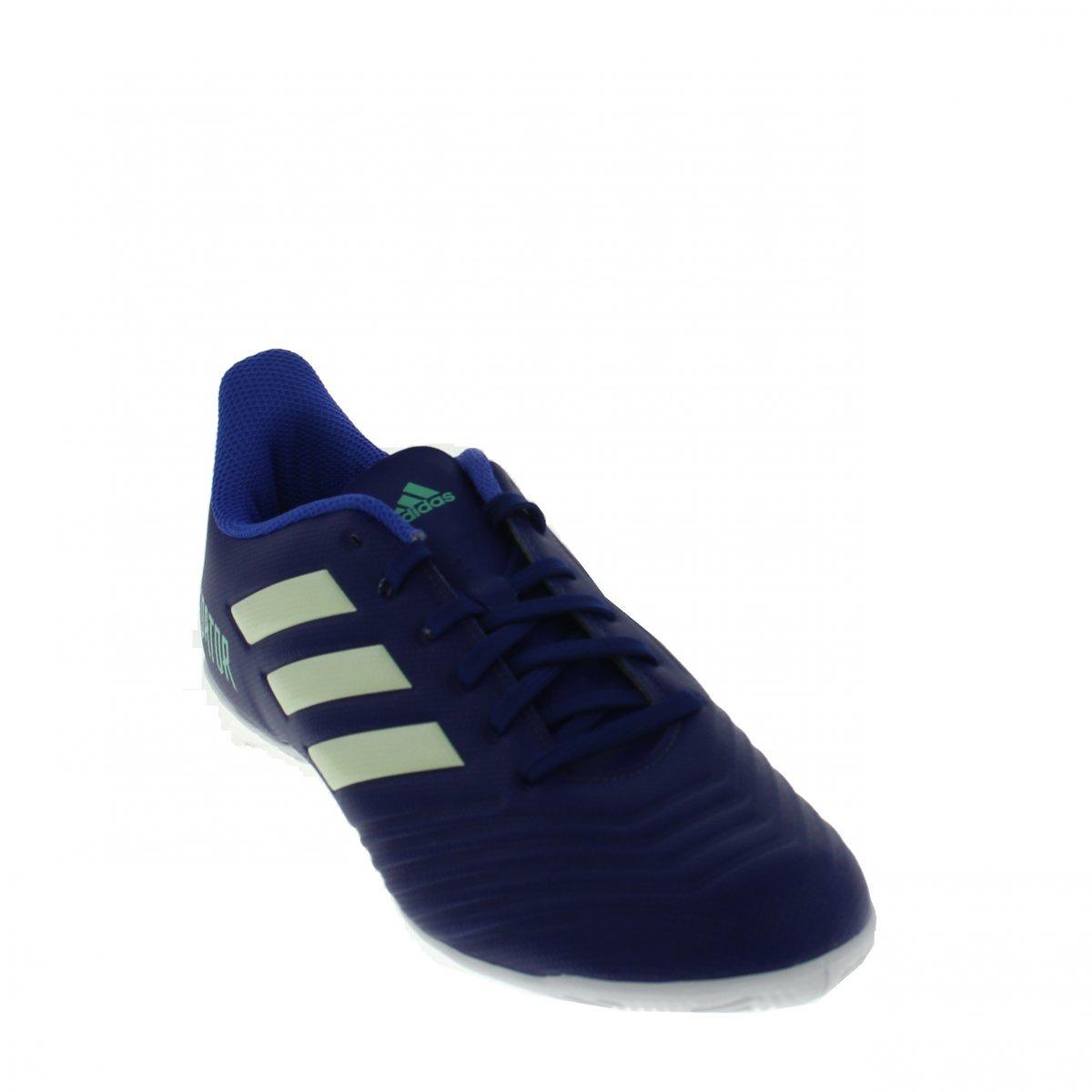 ... chuteira futsal adidas predator tango 18.4 in azul. Carregando zoom.  affordable price bc53a 0f0bc ... b3a4880ac99ae