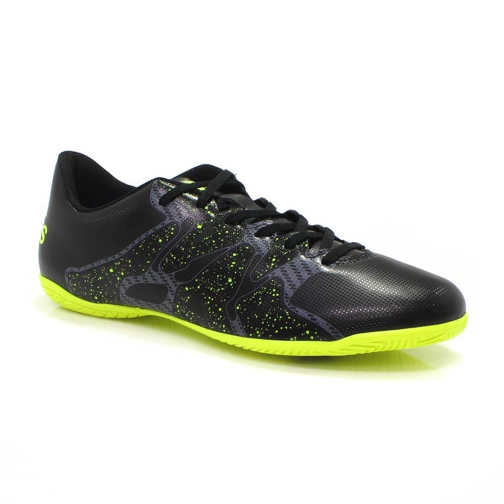 Chuteira Futsal adidas Preta X 15.4 In  6260883aaac81