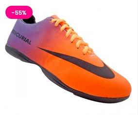 0cd54ebb27 Chuteira Nike Futsal Barata - Esportes e Fitness no Mercado Livre Brasil