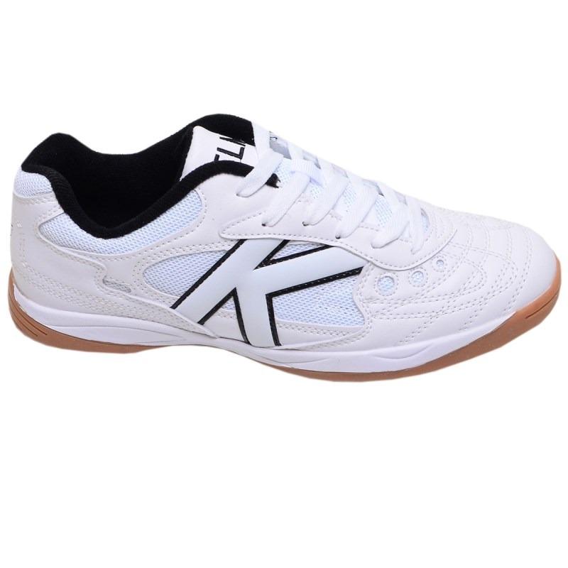 Chuteira Futsal Copa Kelme Branco - R  239 0432407fa6f67