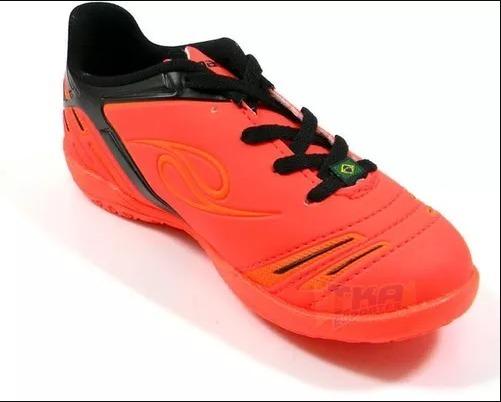 5dee1b0d3dd4a Chuteira Futsal Dalponte Original Infantil Supreme - R  119